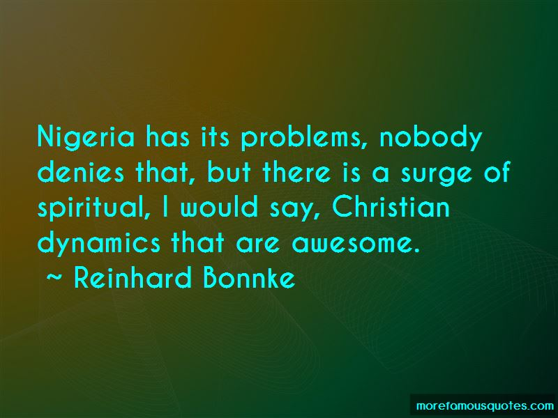 Reinhard Bonnke Quotes Pictures 4