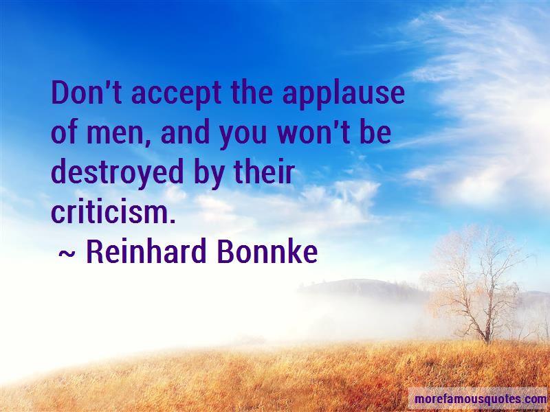 Reinhard Bonnke Quotes
