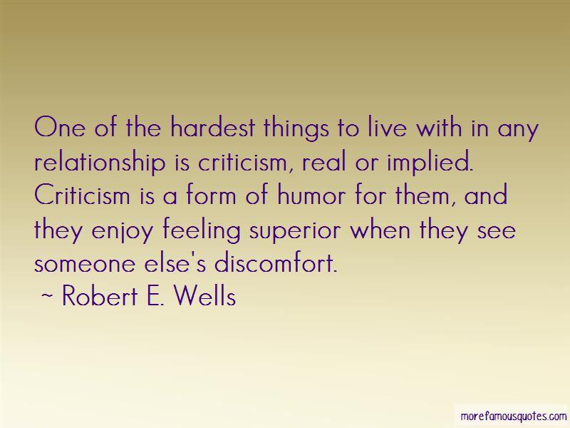 Robert E. Wells Quotes