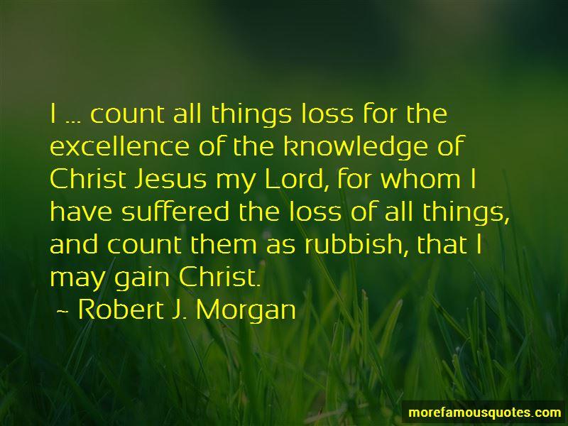Robert J. Morgan Quotes