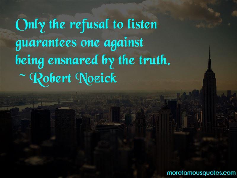 Robert Nozick Quotes Pictures 2