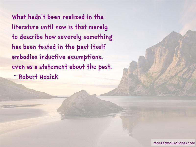 Robert Nozick Quotes