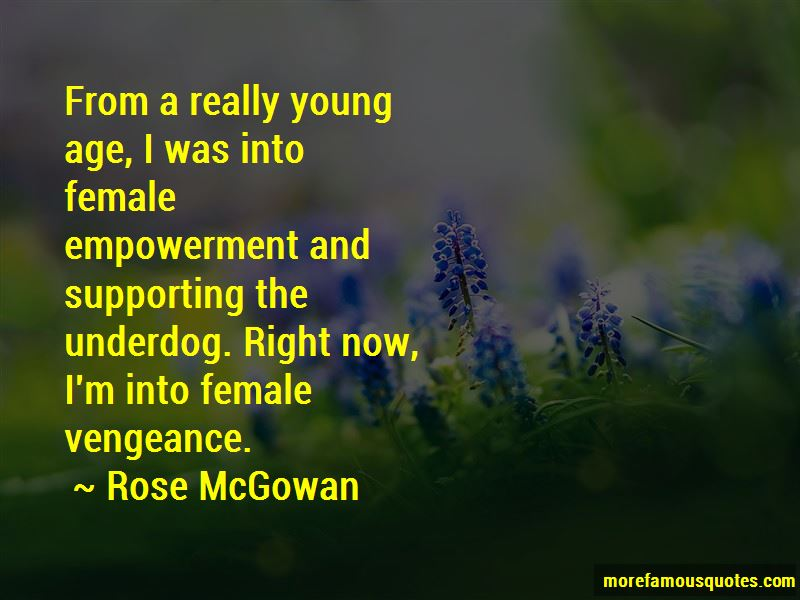 Rose McGowan Quotes Pictures 2