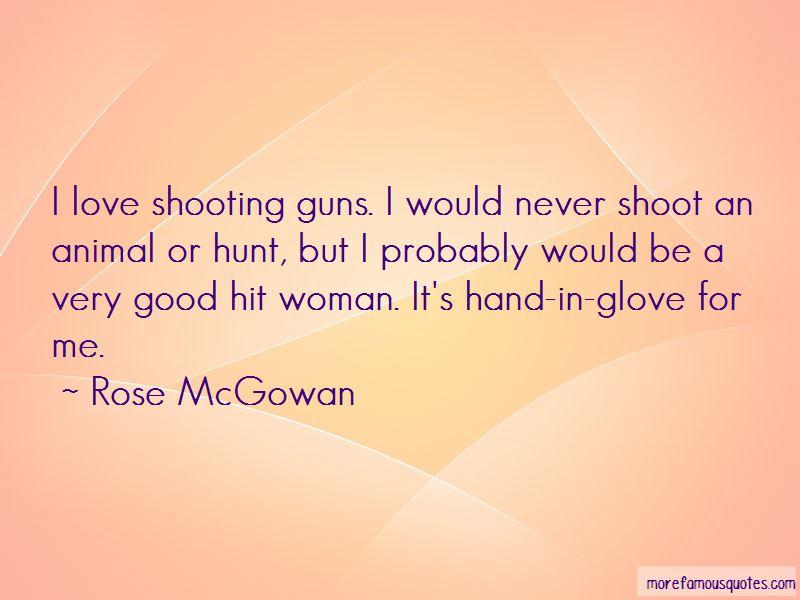 Rose McGowan Quotes