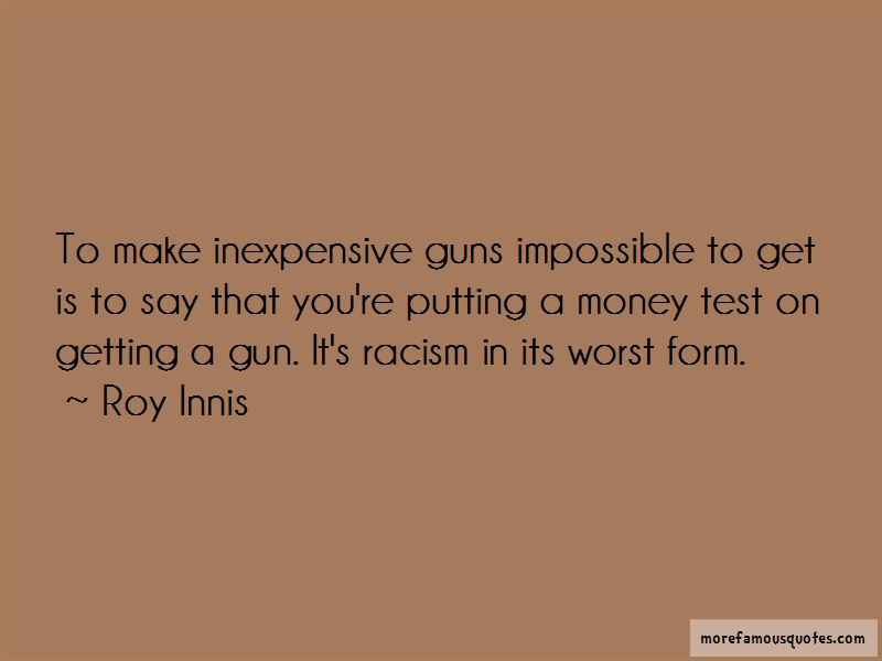 Roy Innis Quotes
