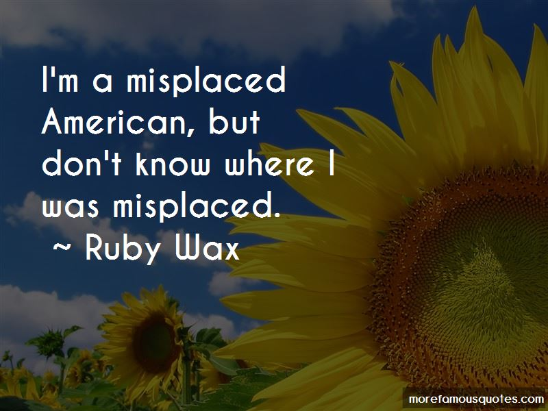 Ruby Wax Quotes Pictures 2