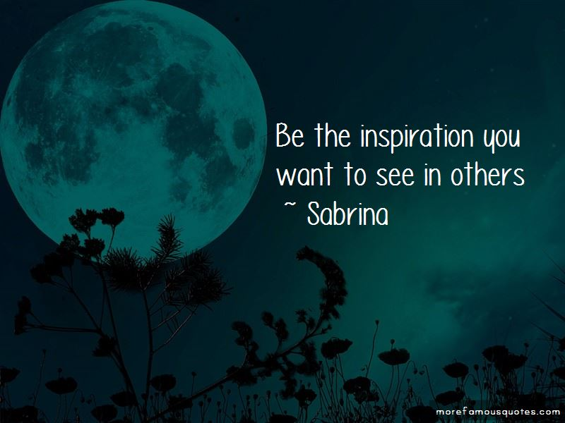 Sabrina Quotes Pictures 2