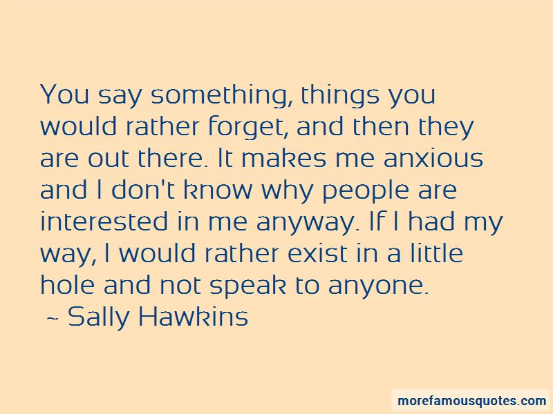 Sally Hawkins Quotes Pictures 4