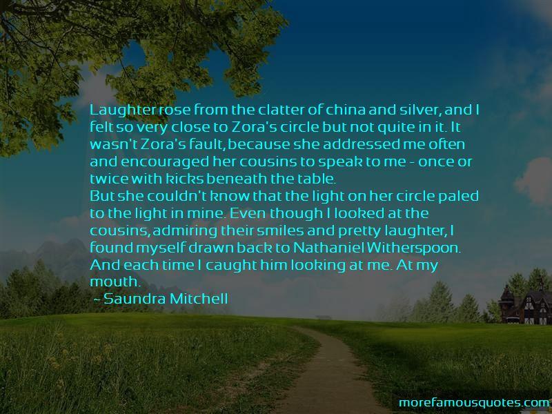 Saundra Mitchell Quotes