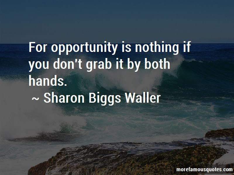 Sharon Biggs Waller Quotes Pictures 2