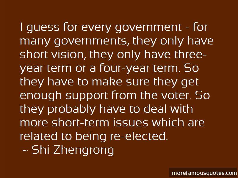 Shi Zhengrong Quotes