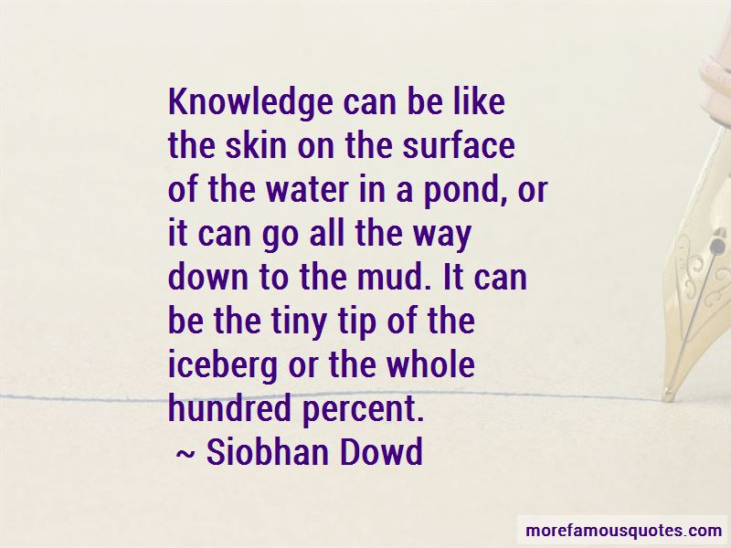 Siobhan Dowd Quotes