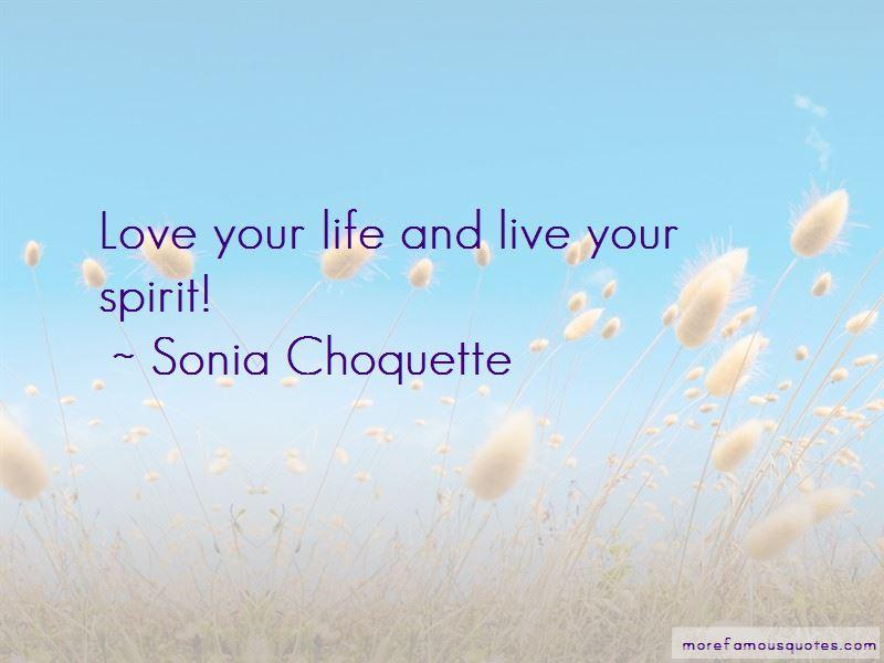 Sonia Choquette Quotes Pictures 2