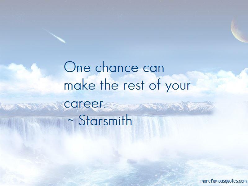 Starsmith Quotes