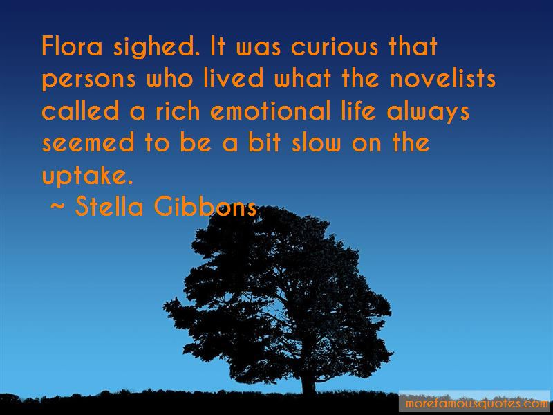 Stella Gibbons Quotes Pictures 4