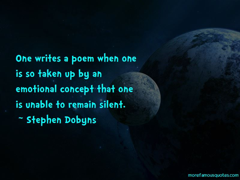 Stephen Dobyns Quotes Pictures 2