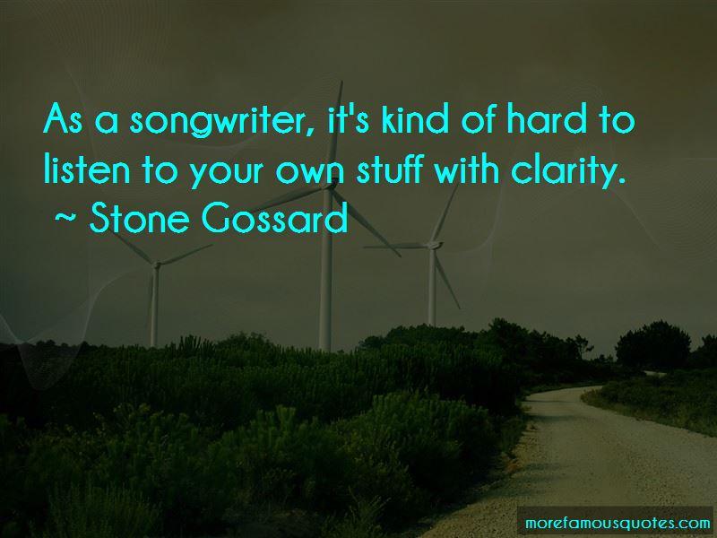 Stone Gossard Quotes Pictures 3