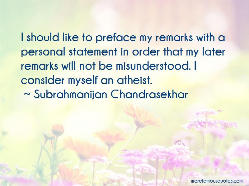 Subrahmanijan Chandrasekhar Quotes Pictures 3