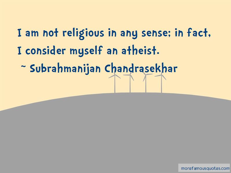 Subrahmanijan Chandrasekhar Quotes Pictures 4