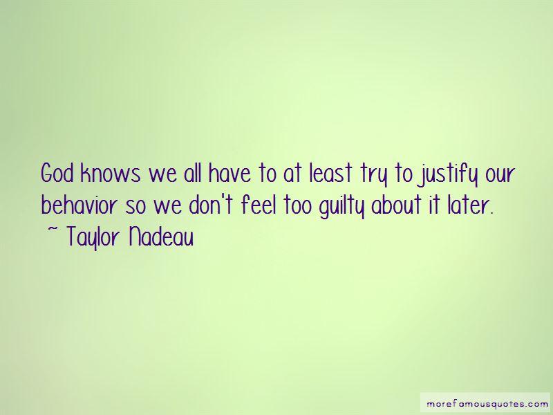 Taylor Nadeau Quotes