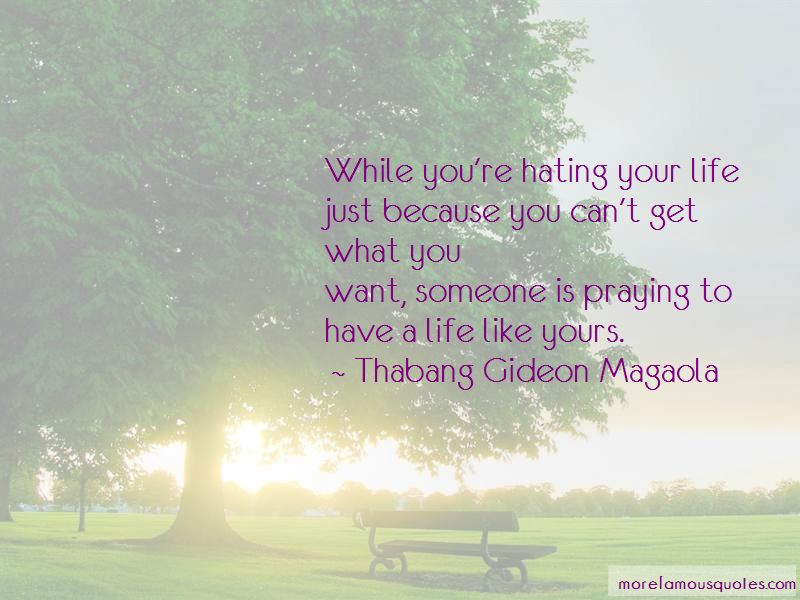 Thabang Gideon Magaola Quotes Pictures 3