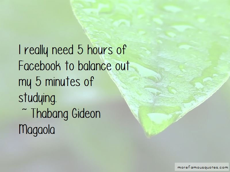 Thabang Gideon Magaola Quotes Pictures 4