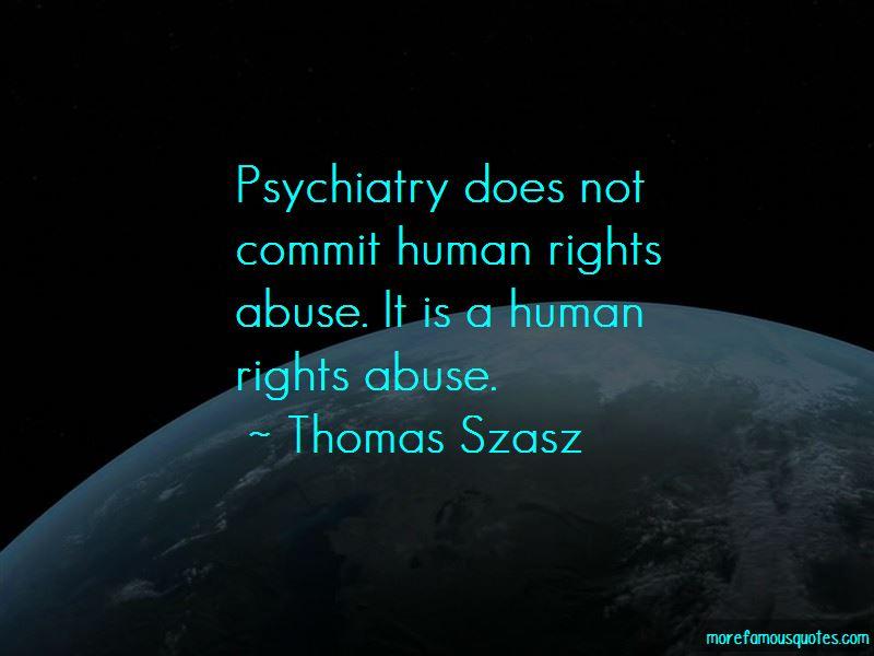 Thomas Szasz Quotes