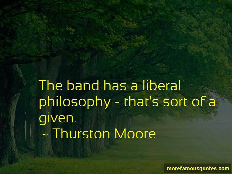 Thurston Moore Quotes