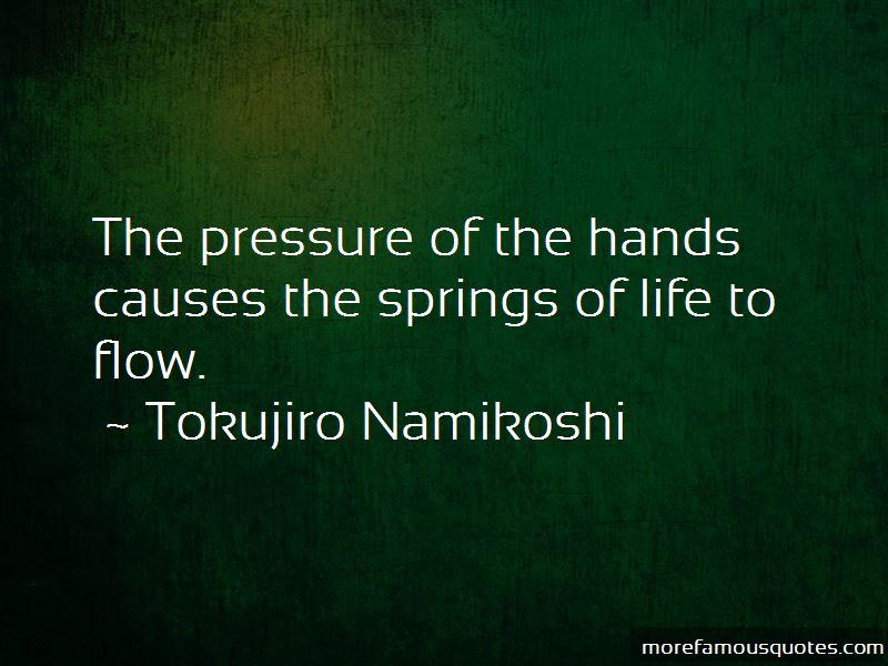Tokujiro Namikoshi Quotes