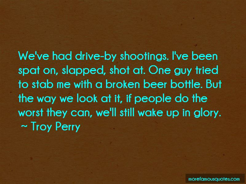 Troy Perry Quotes