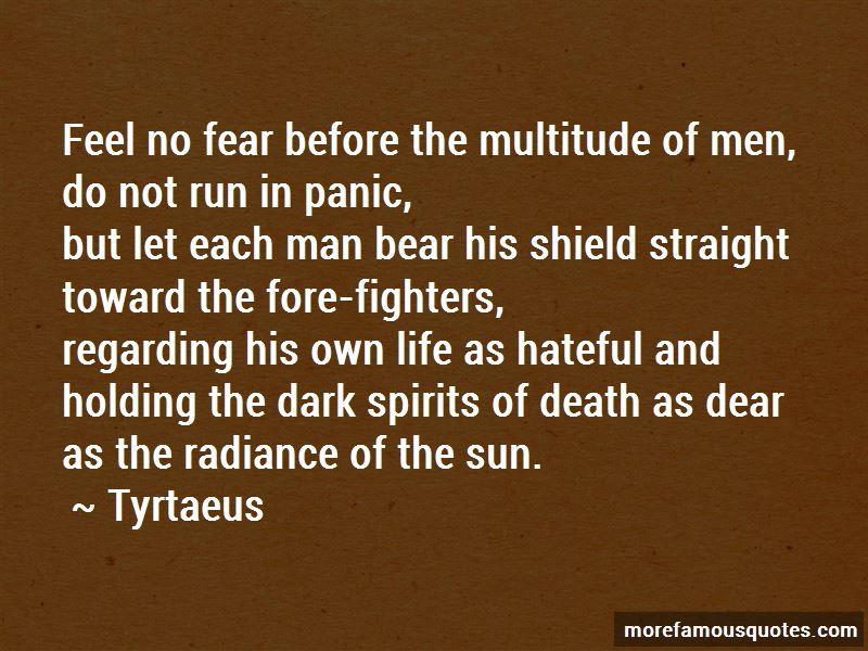 Tyrtaeus Quotes