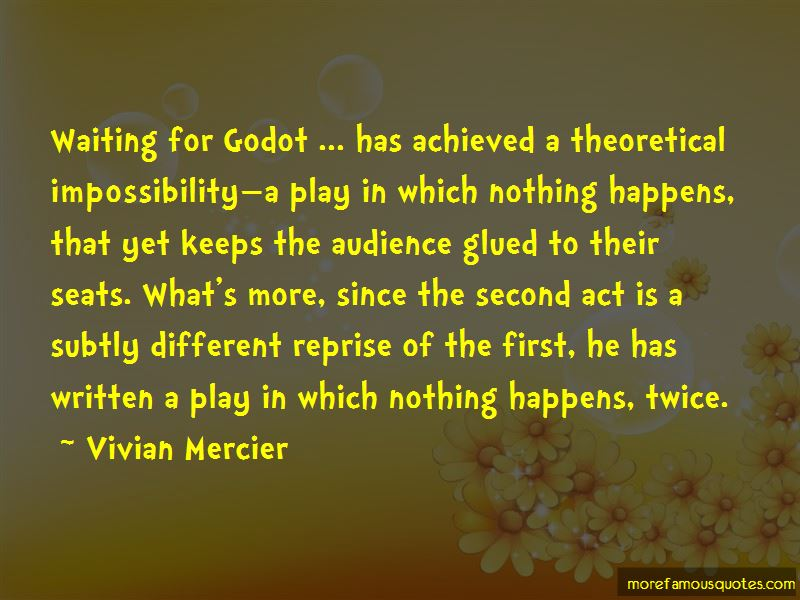 Vivian Mercier Quotes Pictures 2