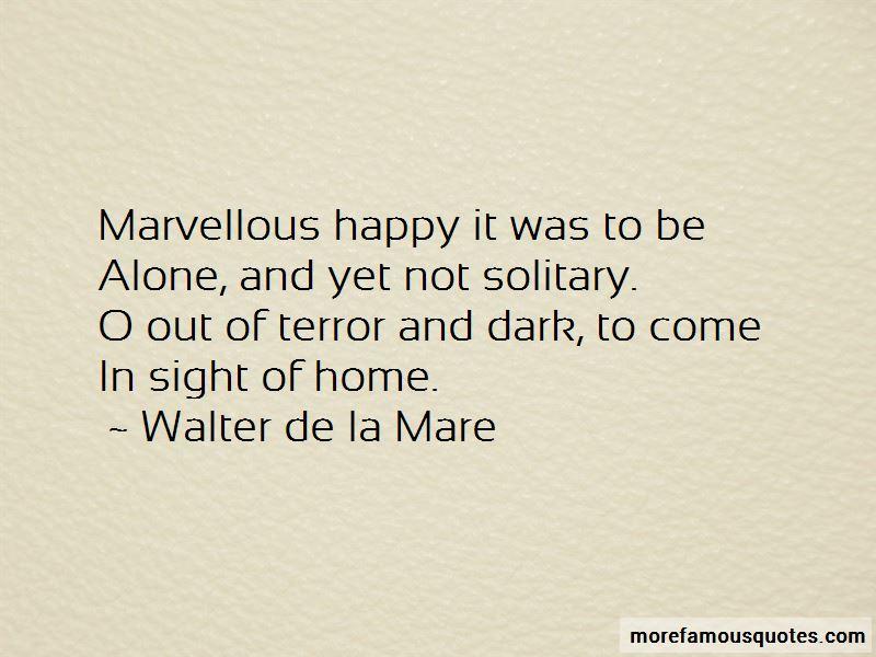 Walter De La Mare Quotes Pictures 2