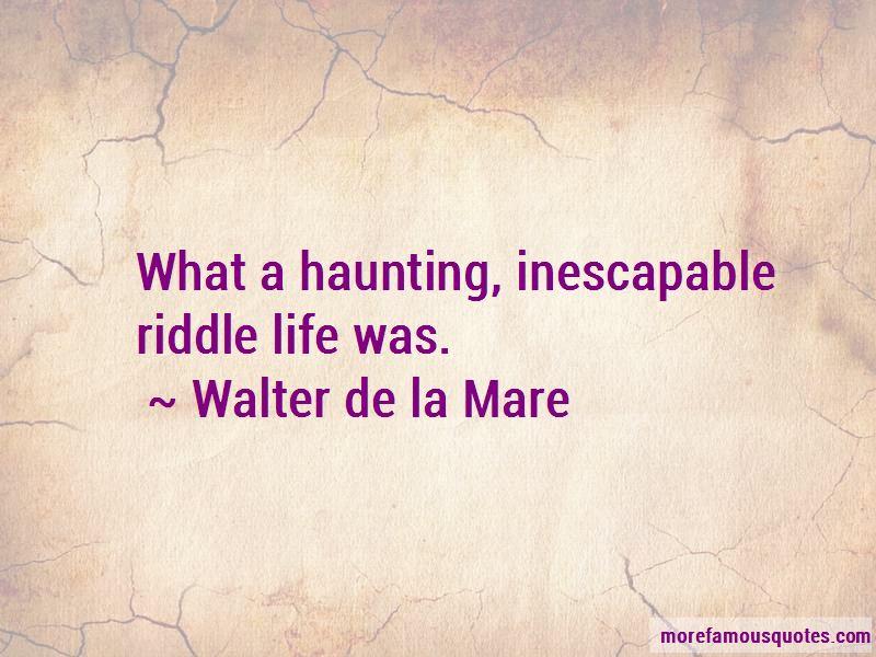 Walter De La Mare Quotes Pictures 4