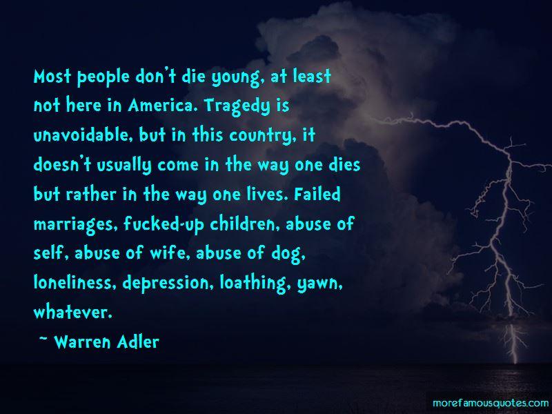 Warren Adler Quotes Pictures 2