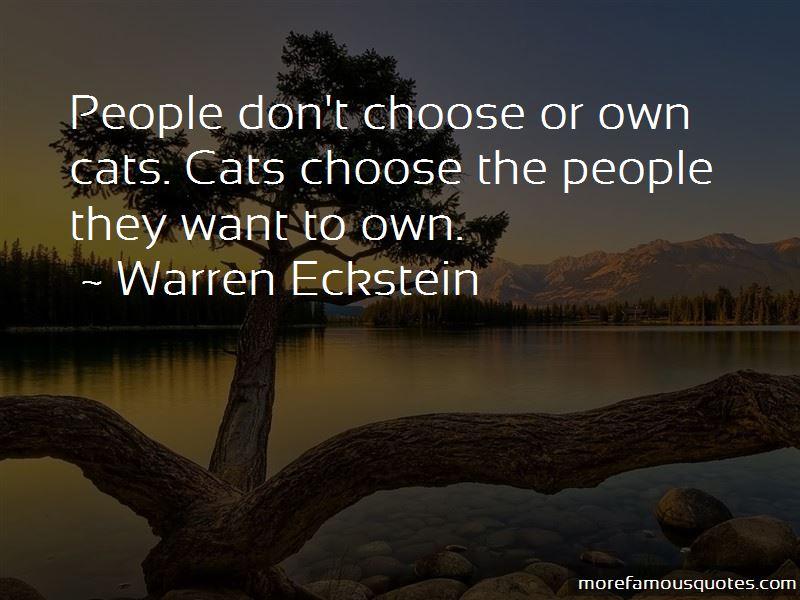 Warren Eckstein Quotes Pictures 3