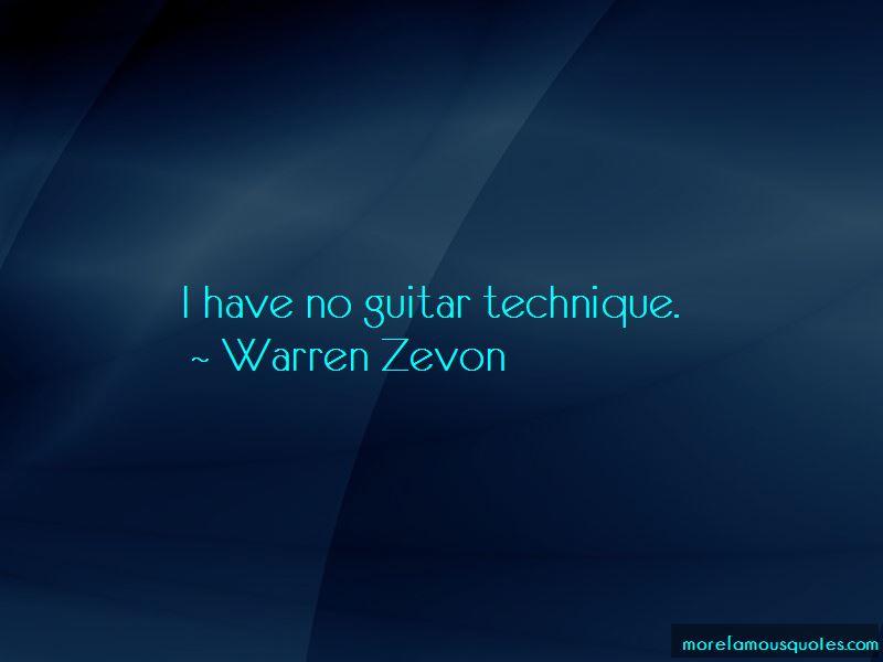 Warren Zevon Quotes Pictures 2