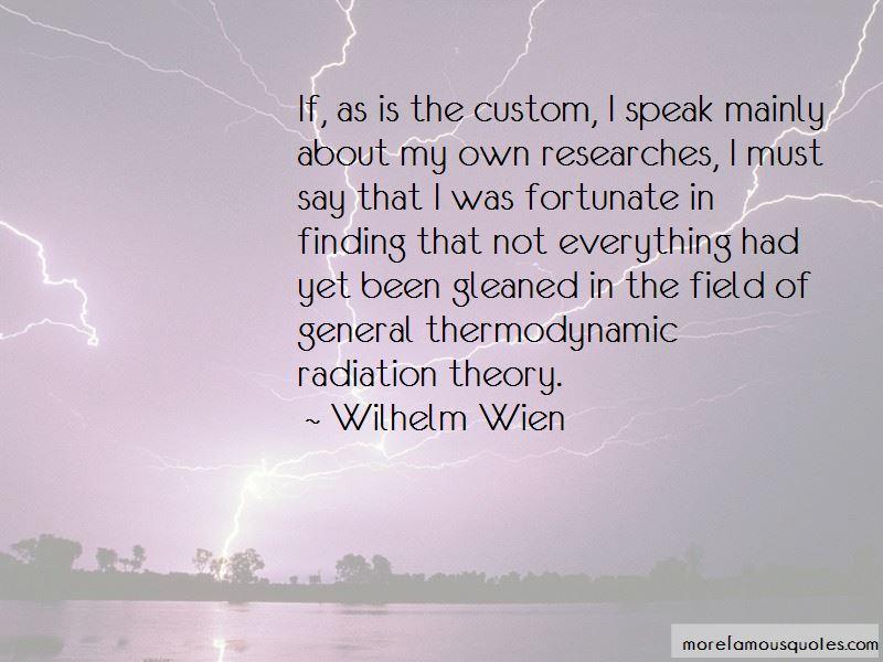 Wilhelm Wien Quotes Pictures 4