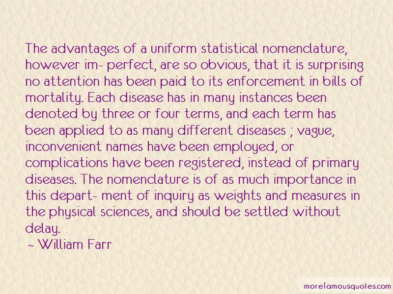 William Farr Quotes