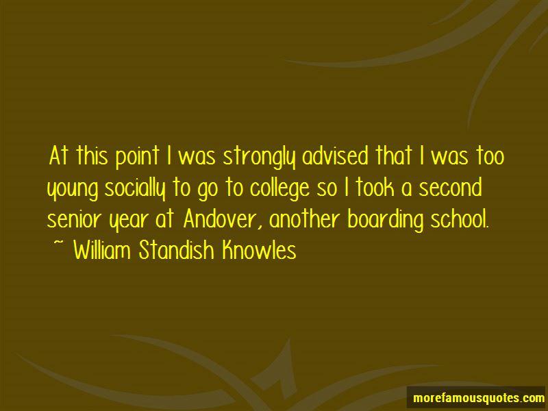 William Standish Knowles Quotes