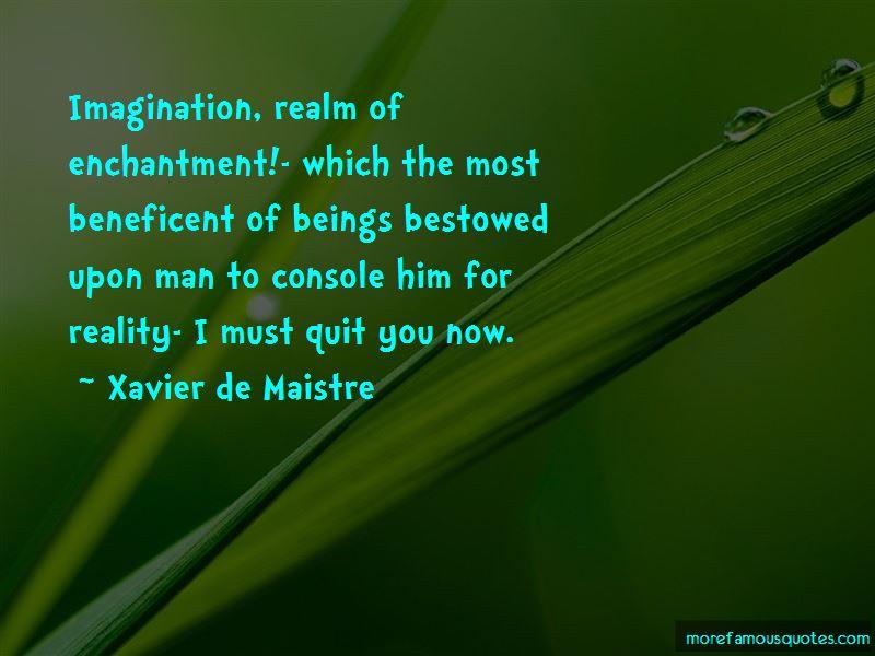Xavier De Maistre Quotes