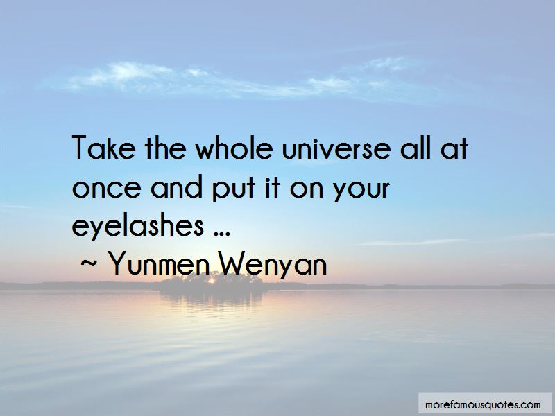 Yunmen Wenyan Quotes