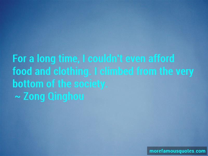 Zong Qinghou Quotes