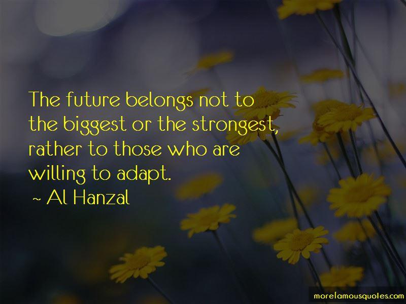 Al Hanzal Quotes