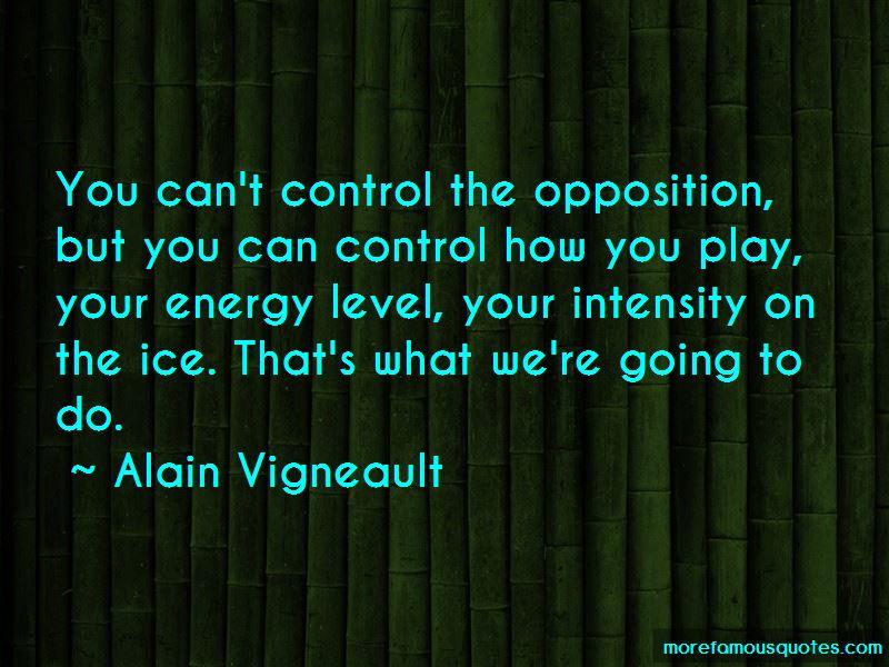 Alain Vigneault Quotes Pictures 4