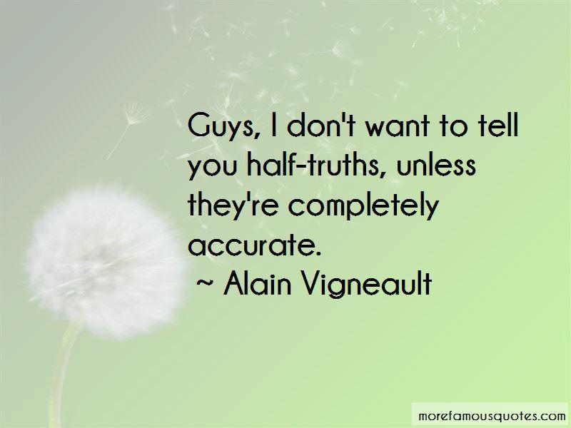 Alain Vigneault Quotes
