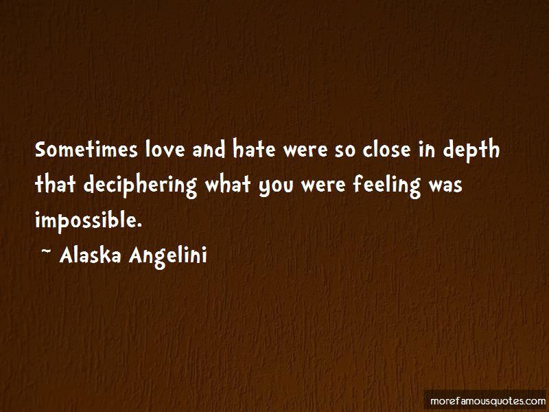 Alaska Angelini Quotes Pictures 4