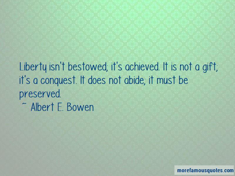 Albert E. Bowen Quotes Pictures 2