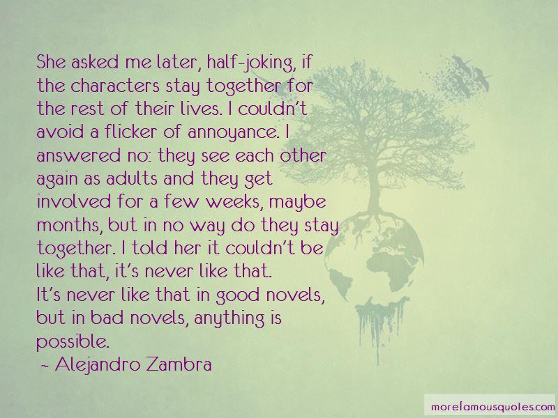 Alejandro Zambra Quotes Pictures 4