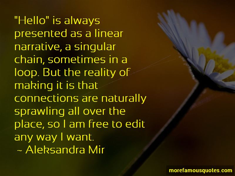 Aleksandra Mir Quotes Pictures 4